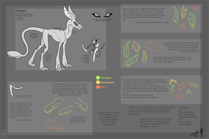 Venat [Species Sheet] by Dreqqy