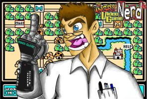 Angry Video Game Nerd by Hades-O-Bannon