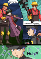 commission15 new comic for zefrenchm by hikariangelove