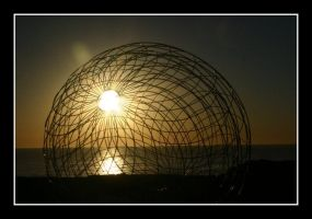 Caged Sunrise by Lucanos