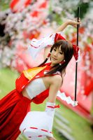 Touhou Project: Hakurei Reimu by Itchy-Hands