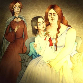 Game of Thrones - Catelyn VI. by Hed-ush