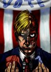 Harvey Dent Wants you to Vote by chronicdoodler