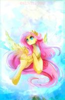 Fluttershy by Koveliana