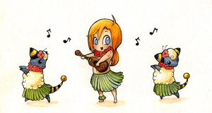 Pokemon Hula by Jay-bo