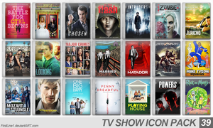 TV Show Icon Pack 39 by FirstLine1