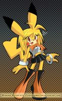 Mobius: Pikachu by TheSnowDrifter