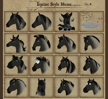 Equine style meme filled in by KathyKnodoff