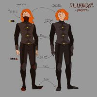 Concept- Salamander by BomBright