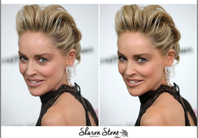Sharon Stone Retouch by theskyinside