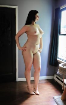 All naked by WifeErotica