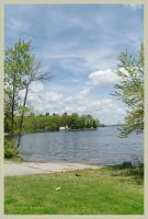 Lake Moira, Ontario, Canada by squareprismish