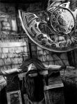 The Poet and The Pendulum by Esteljf