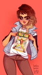New Nerdshirt by babsdraws