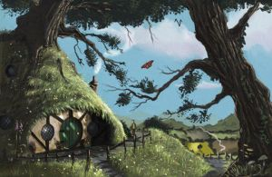 Bag End by ROBPAGE