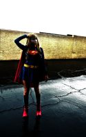 SuperGirl: Contrast by kay-sama