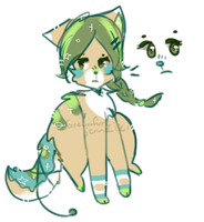 [open] offer to adopt - glaring cat by greenfurkitti