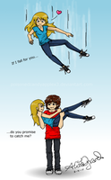 If I fall for you... by alisagirard