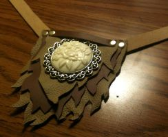Fox Tuft Pendant Collar by LeviathanSteamworks