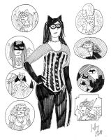 The Nine Lives of Catwoman by EmperorNortonII