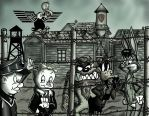 Looney Tuning into Stalag 17 film  version  by Nemo-Fuse