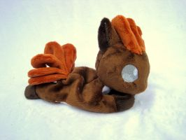 Vulpix Beanie Baby by FollyLolly
