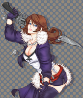 Squall GenderSwap by Sora-World