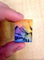 Itty bitty landscape by 13Zander13
