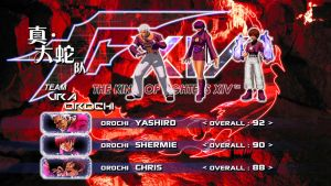 KOF XIV-Ura Orochi Team by Zaible
