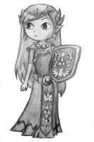 Wind Waker Princess Zelda by Absol320