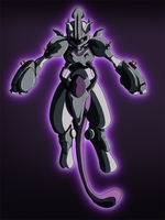 Mecha Mewtwo by EarthKnight