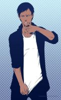 KnB: Aomine-sketch by Sideburn004