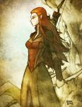 Tauriel: Daughter of Mirkwood by grantgoboom