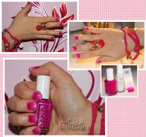 gradient nailart by amirajuli