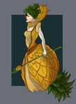 Pineapple Queen by AngieMyst