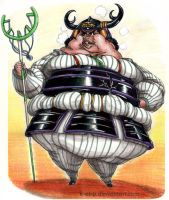 Fat Usopp by K-EL-P