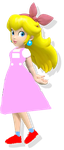 The Wizard Of Mushrooms: Princess Peach's Design by PrincessPeachFan100
