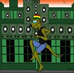 Jamaican Mongoose by cartercomics