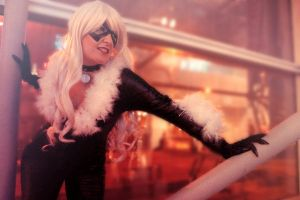 Black Cat - On the Prowl by Nyxiie