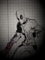 Deadpool Goes Wolverine by phum0