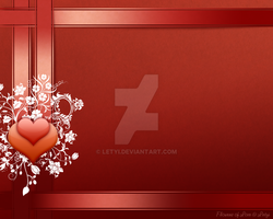 Flowers of Love wallpaper by Letyi