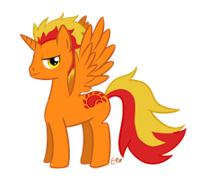 Pony OC: Daybreak by OEmilyThePenguinO