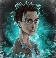 Harry potter painting by himuraR99