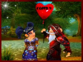 gnome love by Kathamausl