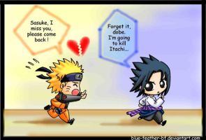 Chasing Sasuke by Blue-Feather-BF