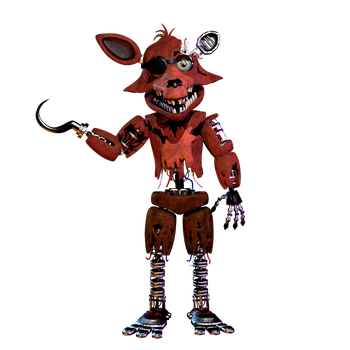 Withered foxy v2 by NathanzicaOficial