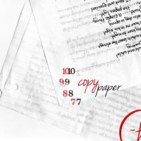 Copy Paper by TheMocnster