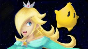 Rosalina and Luma by LunarHalo24
