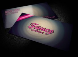 Fancy Vintage Business Card by graphcoder
