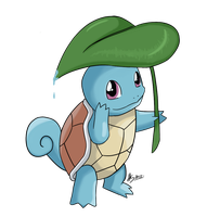 365 day 39 squirtle by Korikian
